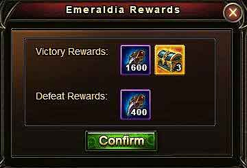 EMERALDIA Level 5 rewards - Wartune Patch 8.0
