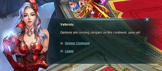 Wartune Patch 8.1 guide Demon Continent 1