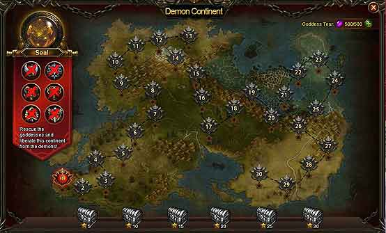 Wartune Patch 8.1 guide Demon Continent 2