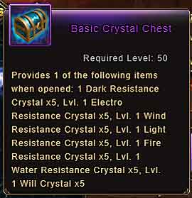Wartune Patch 8.3 Basic Crystal Chest