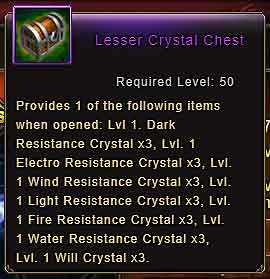 Wartune Patch 8.3 Lesser Crystal Chest