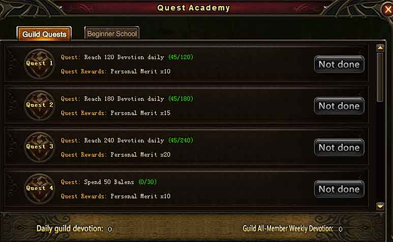 Wartune Patch 8.3 New Guild Features [Dev Guide] 2