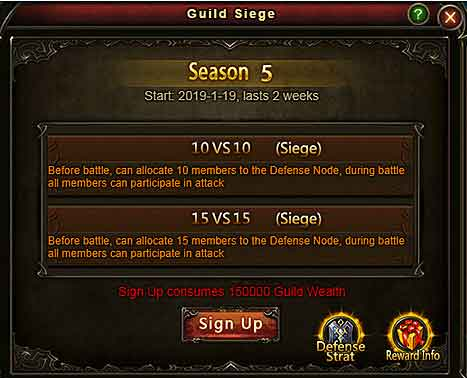 Wartune Patch 8.3 New Guild Siege [Dev Guide] 2