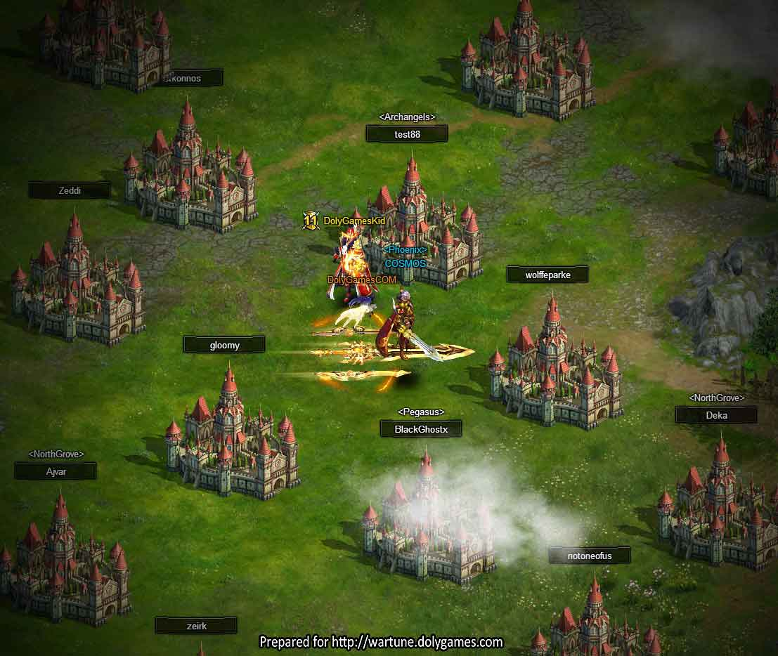 Wartune WILDs overcrowded castles OPT