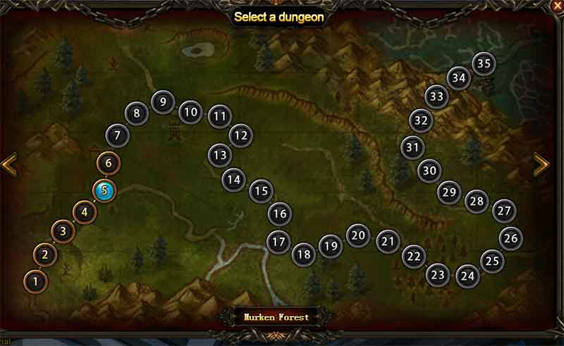 Wartune Patch 8.5 Guide & Tips Cuties Expedition Select Dungeon