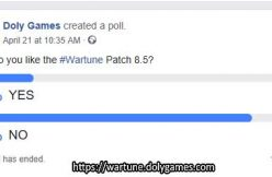 poll Do you like the Wartune Patch 8.5
