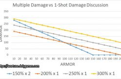 Multiple Damage vs 1-Shot Damage Discussion